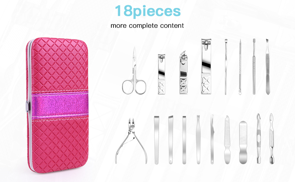 Professional Pedicure Manicure Set Stainless
