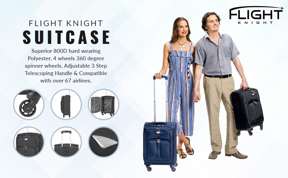 fabric suitcase