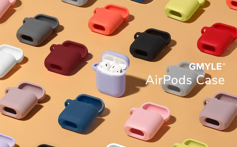 AirPods Case Cover Protective with Keychain