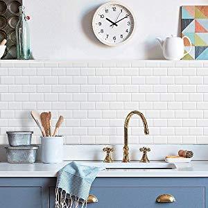 self-adhesive kitchen tiles