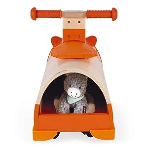 porteur hamster bois janod casier