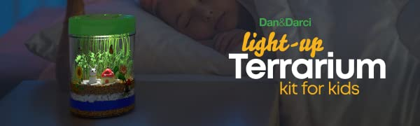 Light-up Terrarium Kit for Kids