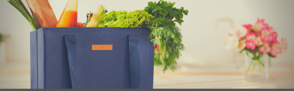REUSABLE GROCERY SHOPPING BAG TROLLEY BAGS