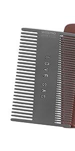 Portable Mustache Combs