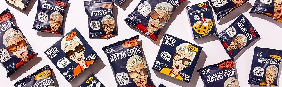 The Matzo Project Matzo Ball Soup Crumbs Flats Chips Chocolates Kosher Passover Foods
