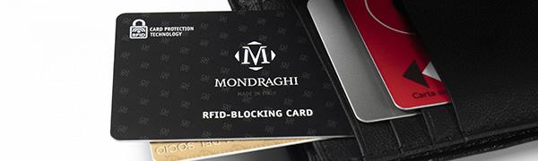 Sicurezza con RFID card Mondraghi
