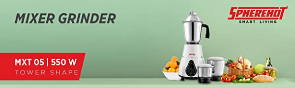 spherehot mixer grinder tower shape