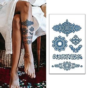 Realistic Fake Temporary Tattoos