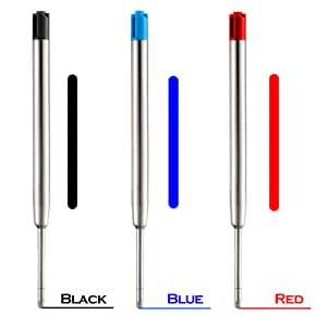 You will choose 3 colors,red or blue or black