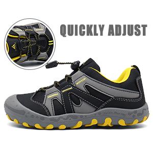 Mishansha Trekking /& Hiking Shoes Kids Walking Shoes Outdoor Sports Sneaker Breathable