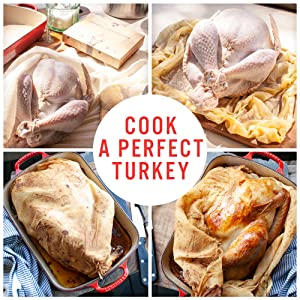 cooking cloth wrap bag oven kitchen food turkey baste culinary grade 90 wrap