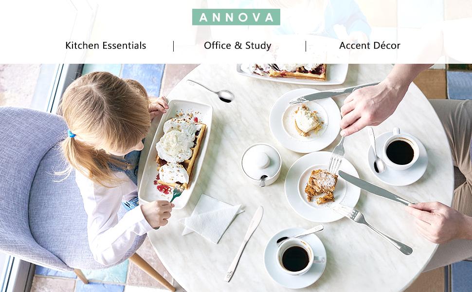 ANNOVA Kids Flatware