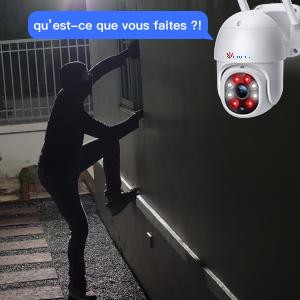 caméra surveillance audio