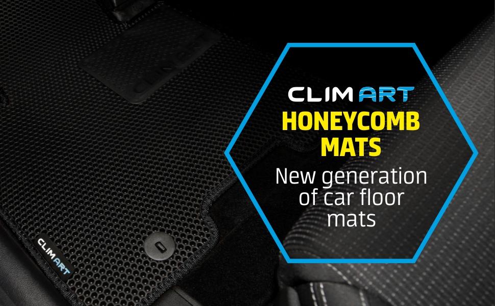 Clim Art HoneyComb Floor Mats Car Floor Liners