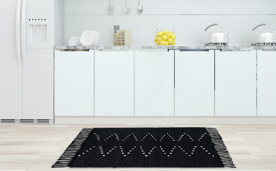 tassles hand woven chindic tassels area rugs machine washable unique nurseries rug laundry bathroom