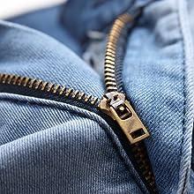 cargo denim pants men jeans men pockets men relaxed fit dark blue jeans mens jeans cargo pockets