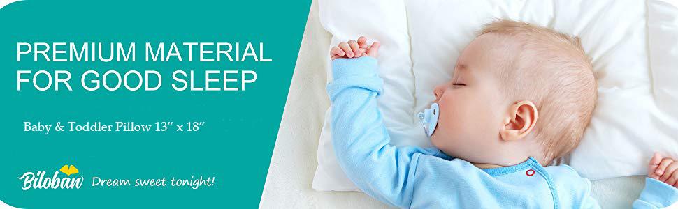 Baby toddler pillow