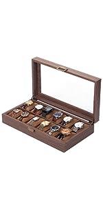 12 griglie con venature del legno.