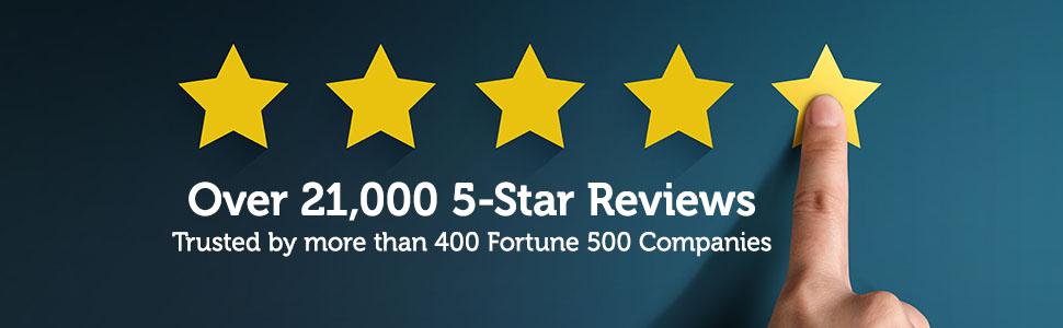 BrickHouse Security 5-Star Reviews