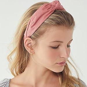 suede headbands