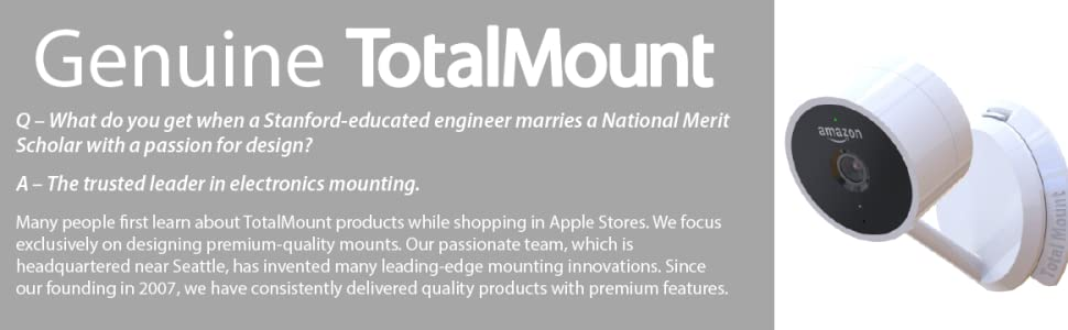 TotalMount Hole-Free Wall Mount for Cloud Cam