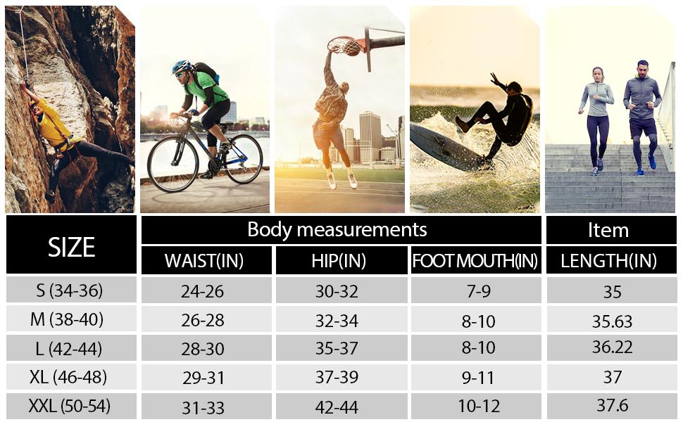 men compression leggings workout athletic running pants