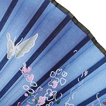 Folding Fans Handheld Silk Sleeve for Protection for Women Scent Chinese/Japanese for Party Gifts
