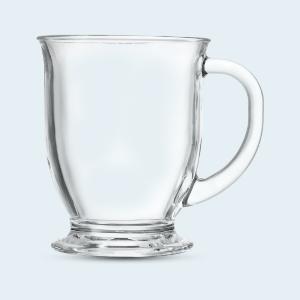 glass mugs by kook