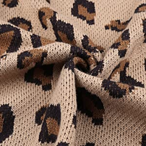 Leopard Print Cardigan for Women