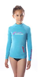Girls Rash Guard Long Sleeve Swimwear Top