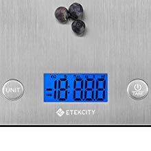 Etekcity Báscula Digital Para Cocina, Básculas Para Cocina de ...