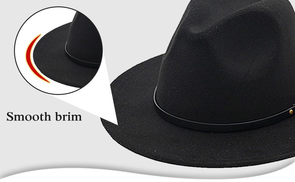 Sombrero jazz hat winter