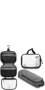 toiletry bag set, toiletry bag, toiletry kit, toiletry kit set, toiletry kit bag set