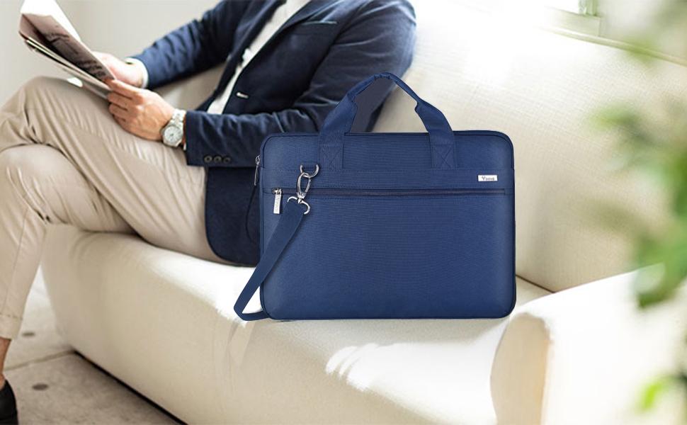 maletin portatil 15.6 funda portatil 15 pulgadas azul