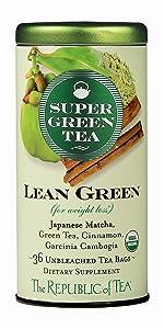 Lean Green SuperGreen Tea