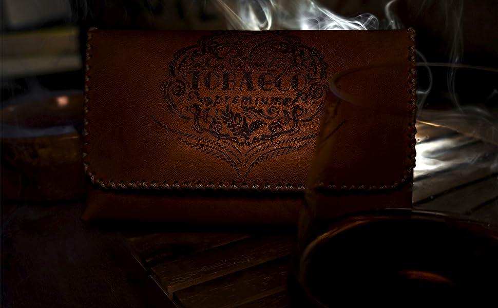 Porta Tabacco tavolino e cognac