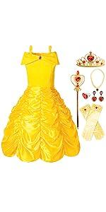 Princess Dress, Yellow