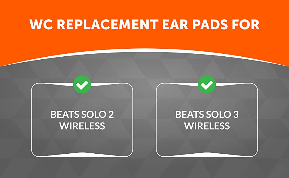 earpad replacement for beats solo 3 wireless