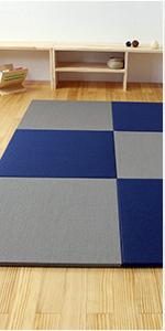 置き畳 琉球畳 畳マット ユニット畳 縁なし 和紙製 パラレル フィラ ハイグレード