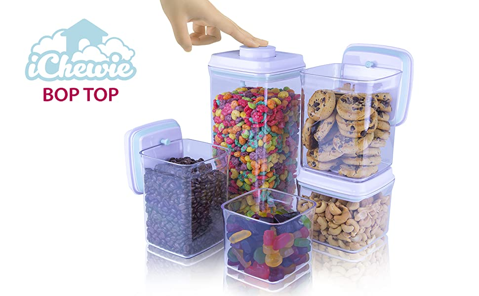 Food Container storage airtight air tight strge fod sugar flour pasta dry goods water tight set sets