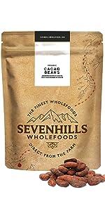 Sevenhills Wholefoods Granos de Cacao Orgánico