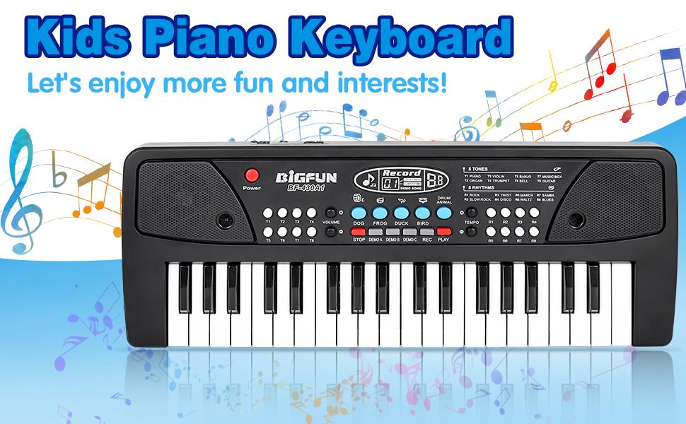 37-Key Piano Keyboard