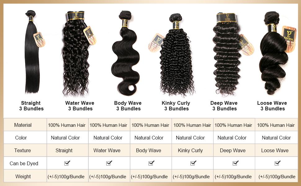 Yavida Human Hair Style