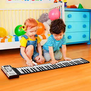 Roll Up Piano Portable