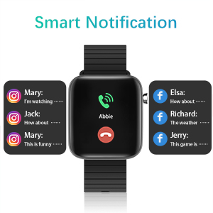 Andorid compatible call alert SMS SNS notification iOS compatible bluetooth 4.2 fitness tracker