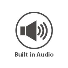 Audio poe camera