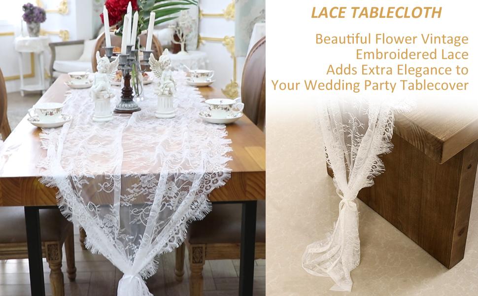 wedding lace runner