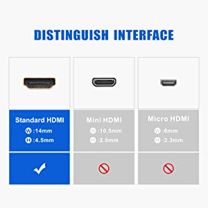 VCE Short HDMI Male to Female Swivel Adapter