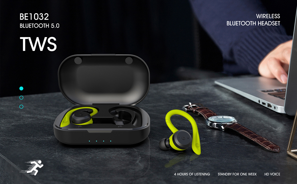 TWS stereo earbuds