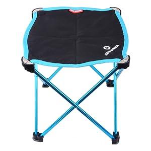 TRIWONDER Mini Tabouret Camping Pliant Petit Tabouret L/éger Chaise Pliable avec Sac de Transport Portable pour Camping P/êche Randonn/ée Voyage